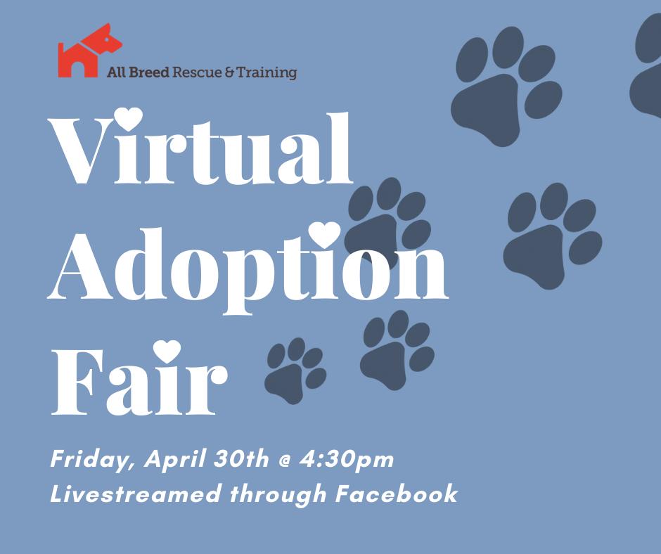 ABRT Virtual Adoption Fair