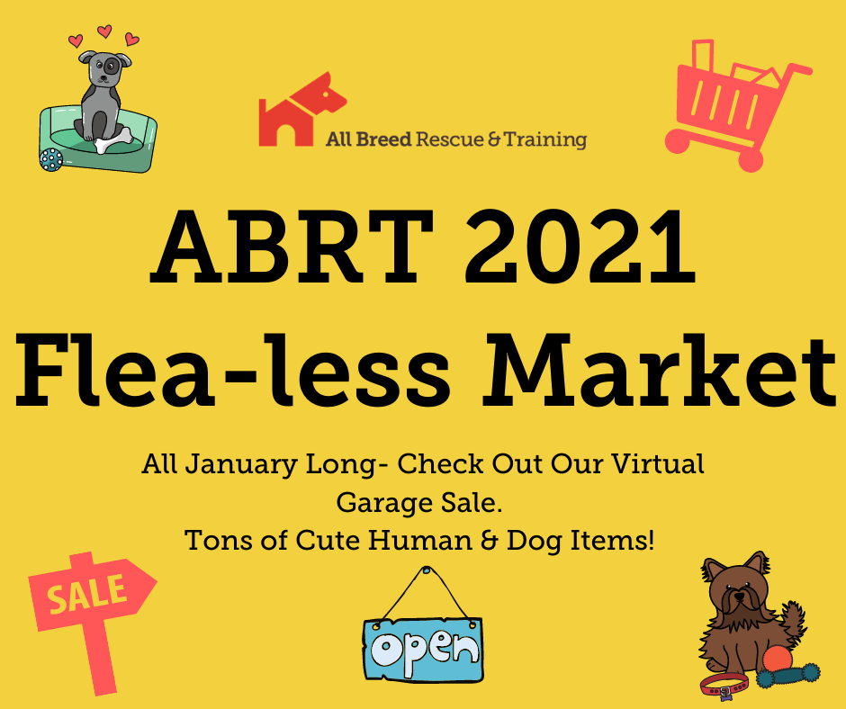Check out the wares in the ABRT Flea-less Market without ever leaving your home!